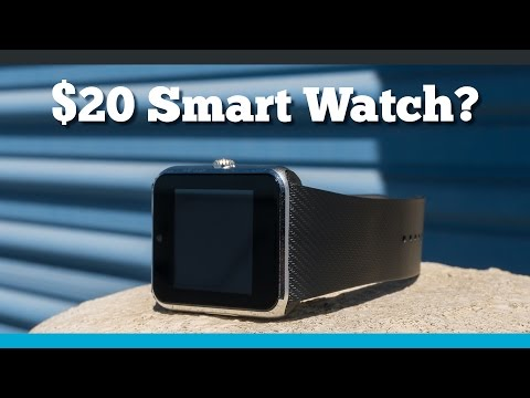 A Smart Watch So Cheap, It Doesn't Even Have a Name
