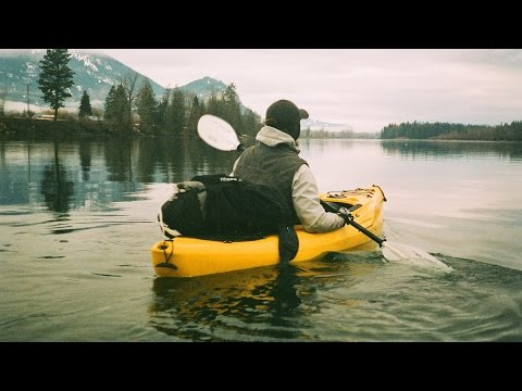 Kayaking in a Winter Storm - Edwin's Eyes Volume 1