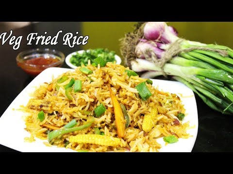 Veg Fried Rice Recipe | Vegetable Fried Rice | Easy and Healthy Rice Recipe | Ep - 599