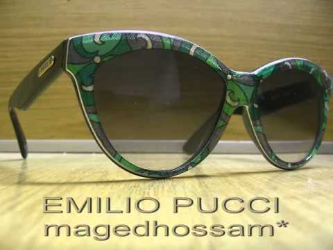 VINTAGE EMILIO PUCCI SUNGLASSES HAND MADE IN FRANCE PU.57