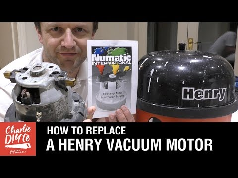 How to Replace a Henry Numatic Vacuum Motor