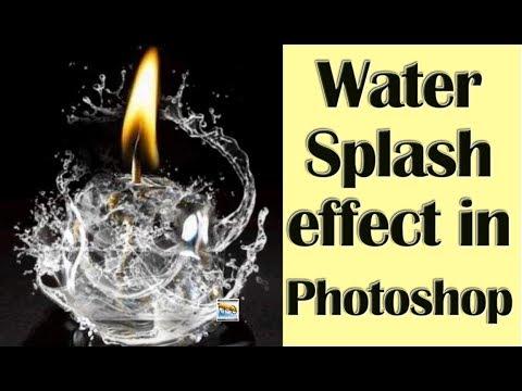 Water Splash effect #Image Manipulation #Photoshop Hindi tutorial