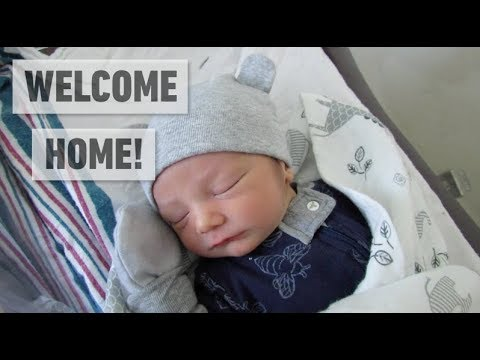 BRINGING NEWBORN HOME FROM THE HOSPITAL