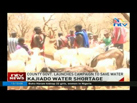 Kajiado water shortage: County government launches campaign to save water