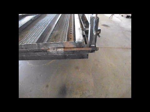 Trailer Ramp Hinge Modification