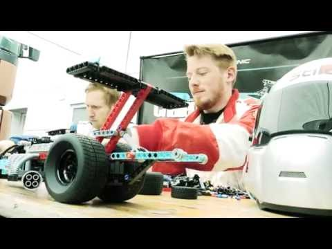 Drag Racer: Who can build the fastest? - LEGO Technic - 42050 - Technic challenge