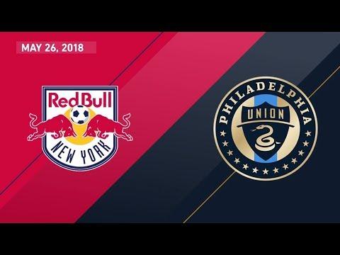 HIGHLIGHTS: New York Red Bulls vs. Philadelphia Union | May 26, 2018