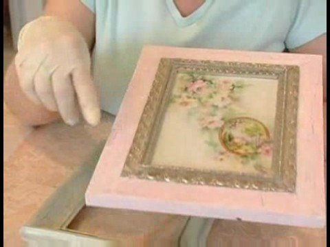 Making Picture Frames Look Old : Crackle Mistakes When Aging a Picture Frame