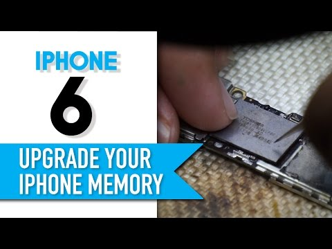 How to upgrade your iPhone storage from 16GB to 64GB?!