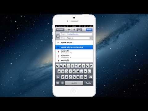 Street view gebruiken vanuit de Apple kaarten app