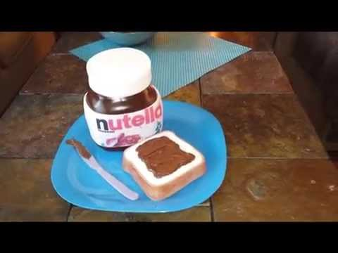 Nutella Jar Cakes - Amazing must see!!!!!