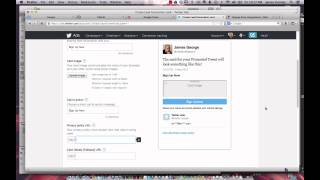 How To Put Your Email Signup Form On Twitter