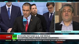 Red Cross deems US aid to Venezuela 'political'
