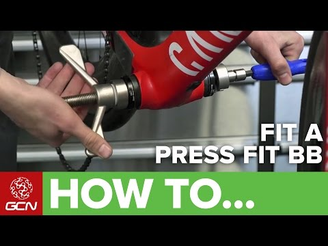 How To Remove & Fit A Press Fit Bottom Bracket On A Road Bike