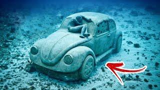 Coisas estranhas encontradas no fundo do mar - Mais Curiosidades