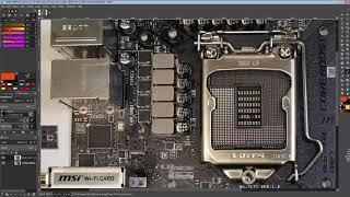 mobo PCB Breakdown: MSI Z490i Unify