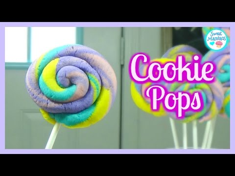 How To Make Cookie Pops | Cookie Lollipop | Sweet Maniacs 💜