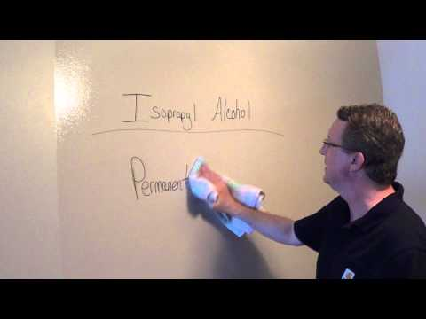 How to Remove Permanent Marker from Dry Erase Board