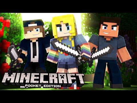 Minecraft PE, XBOX, & Windows 10 W/ Fans! | Minecraft Realms #1
