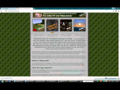 How to install minecraft texture packs