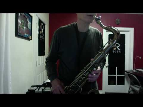 How to Bend Notes on Sax - Jazz Saxophone Lessons - Los Angeles