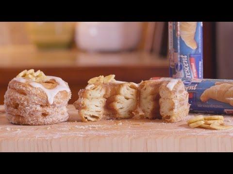Pillsbury Banana Cream Crescent Donuts