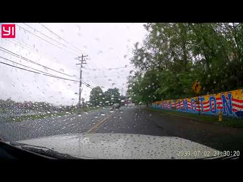 Wrong Way Driver Caught on Dash cam