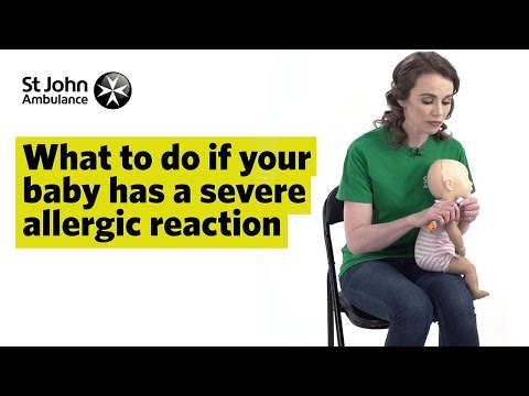 If Your Baby has a Severe Allergic Reaction - First Aid Training - St John Ambulance