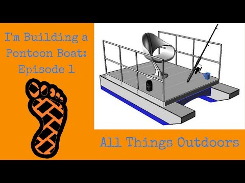 I'm Building a Mini Pontoon Boat: Episode 1