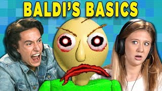 Download BALDI'S BASICS IN EDUCATION AND LEARNING (Teens React: Gaming) Video