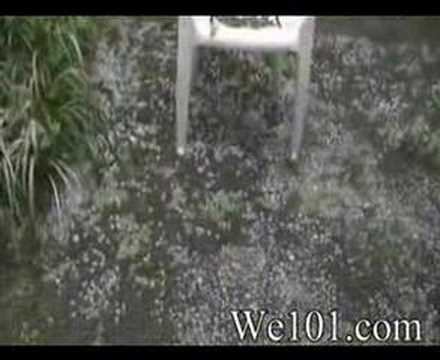 Greensboro Hail Storm 5/31/08