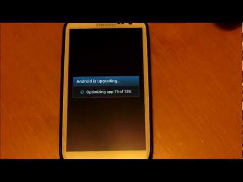 How To Manually Update To Jelly Bean 4.1.1 (SPRINT Galaxy S3)