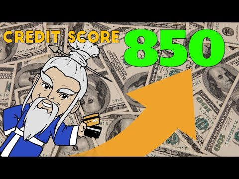 How to Get Your CREDIT SCORE to 850!