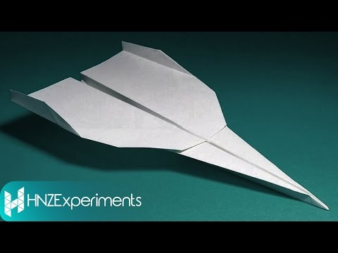 HOW TO MAKE FASTEST FLYING PAPER AIRPLANE (BEST PAPER AIRPLANES)