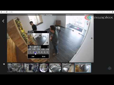 Milestone XProtect Web Client - Playback Video using XProtect Web Client