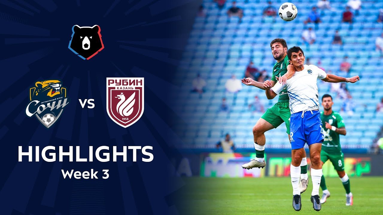 Highlights FC Sochi vs Rubin (3-2) | RPL 2020/21