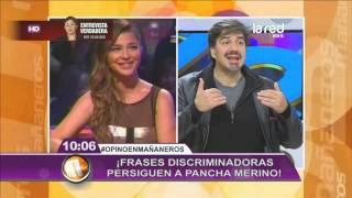 "Francisca Merino se fue indignada de ""Vértigo"" por incómoda pregunta"