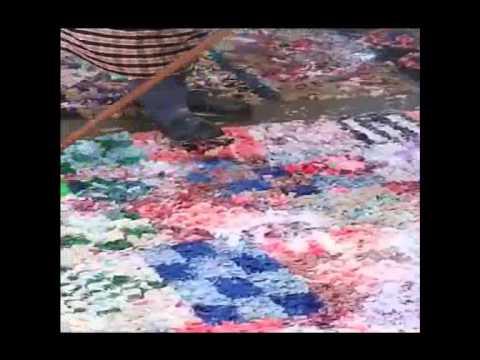 How to clean Boucherouite rag rugs