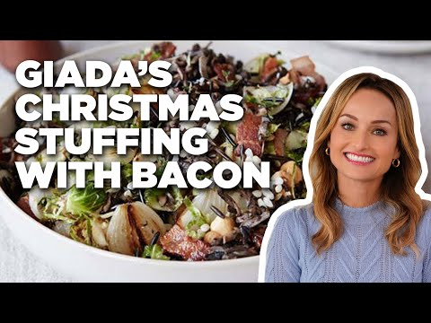 Giada's Christmas Stuffing with Bacon | Food Network