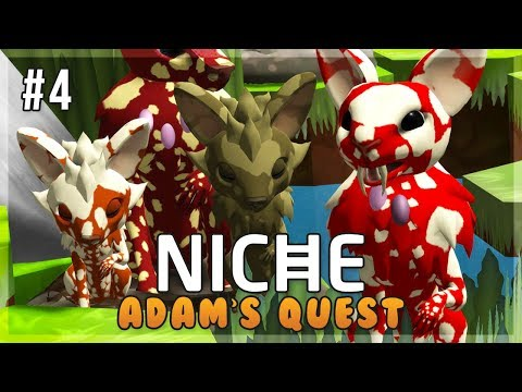 The Familiar Fangs of the Mushrooms!   Niche Let's Play • Adam's Quest - Episode 4