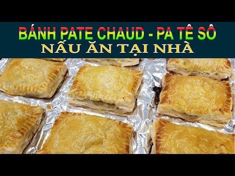 NẤU ĂN TẠI NHÀ 🍳2   Làm bánh PATE CHAUD (PATÊ SÔ)   Quang Lê TV