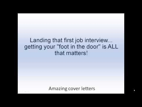 learn how to write a cover letter for a job application