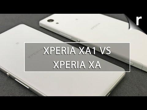 Sony Xperia XA1 vs Sony Xperia XA
