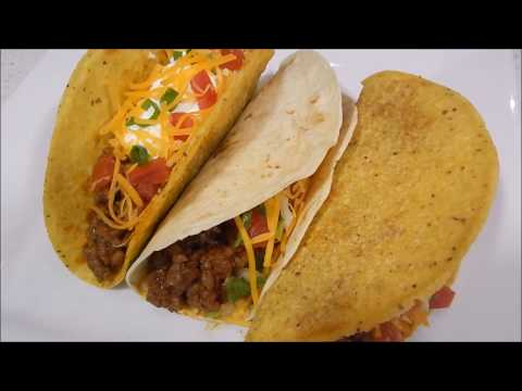 Taco Bell Style Tacos Holiday Recipe
