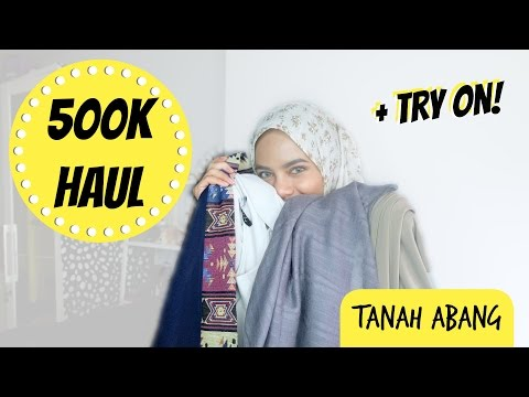 (HAUL + TRY ON) GOPE DAPET BANYAAAK?! [INDONESIA] | dinidinda