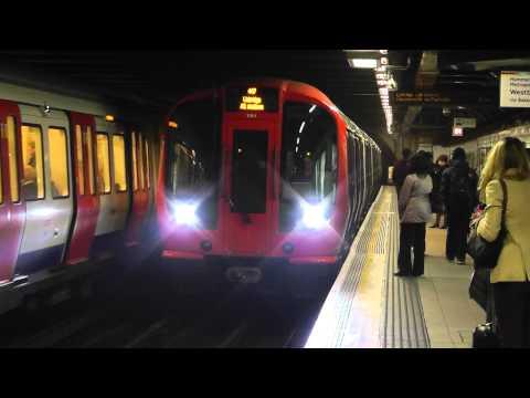 Metropolitan Line S8 Stock 21011 Arriving Euston Square