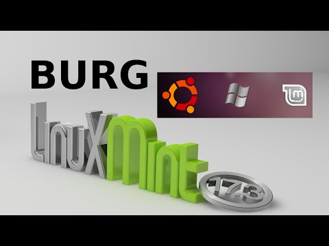 Install BURG Bootloader To Beautify Boot Menu (GRUB) in Linux Mint 17.3 / Ubuntu