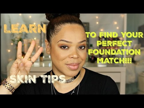 Learn your Skin Undertone | Skintone | Skintype | For the perfect Foundation Match!!!!
