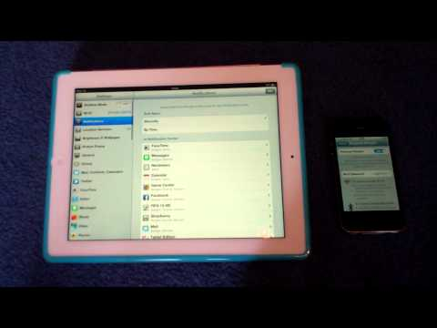 How To Use The iPhone as a Wifi / Internet Hotspot for iPad