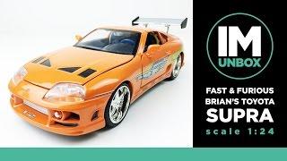 Fast & Furious Brian's Supra | Die-cast Scale 1:24 | Unboxing